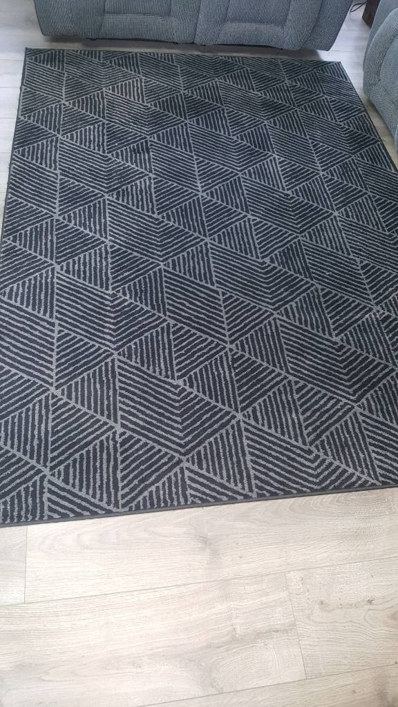 STENLILLE Rug, low pile | in Newmains