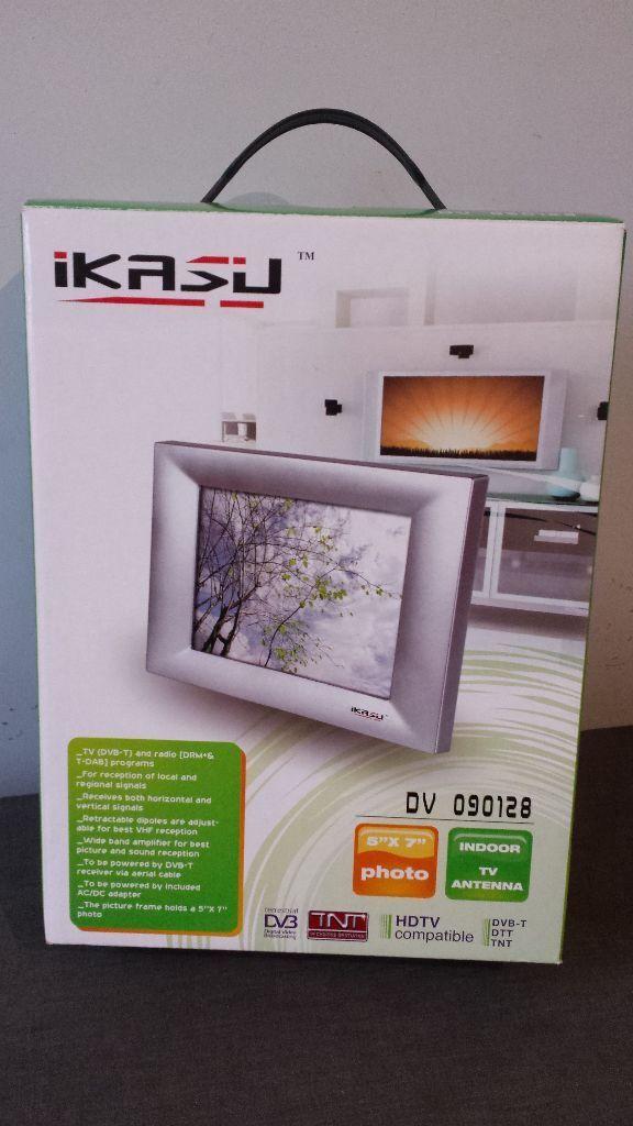 Ikasu Indoor Digital TV Antenna & 5 x 7\
