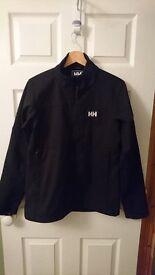 Helly Hansen Men's Softshell Jacket, Black, Medium. Great Condition. Rarely Worn.