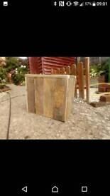 Palletwood planter
