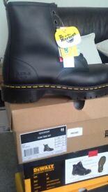 Mens Dr.Marten steel toe cap boots new and boxed