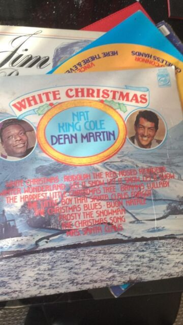 Dean Martin White Christmas.White Christmas Nat Cole And Dean Martin Vinyl And Elvis Gi Blues Records In Blackwood Caerphilly Gumtree