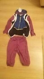 boys tudor dressing up outfit 7-9 years