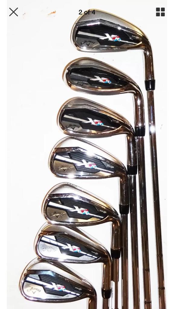 Callaway xr 360 cup golf iron set