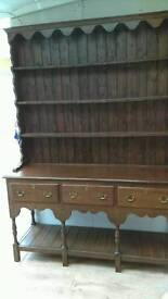 Antique Oak Sideboard / Dresser