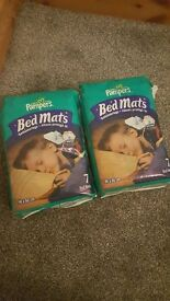 Pampers bedmats