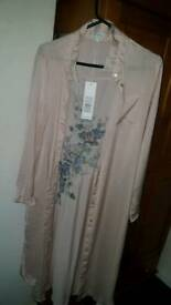 New Look long embroidered shirt bnwt
