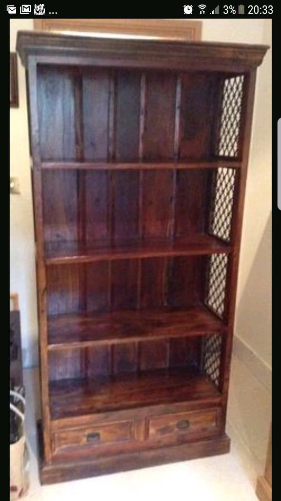 Jali Indian bookcase