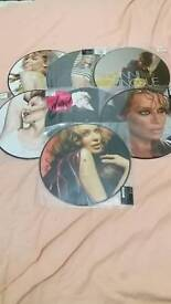 Kylie and dannii picture discs