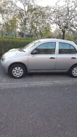 Car for sale. Nissan micra silver