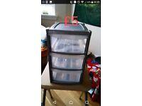 Bathroom/Kitchen 3 drawers storage