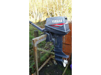 6hp yamaha short shat outboard engine exellent runner dinghy rib boat