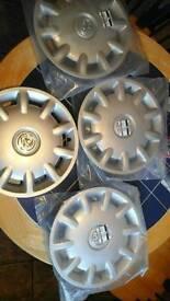 Vauxhal plastic wheel trims