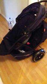 Phil and Teds Explorer Double Pushchair