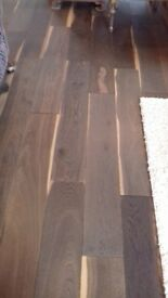 Approximately 10m2 of engineered oak flooring