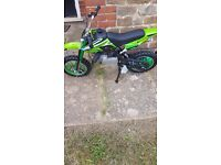 Looking for private land to ride a mini dirt bike on.