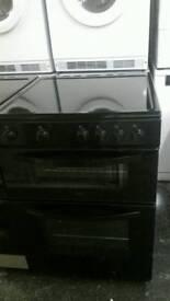 Logik 60cm Electric Cooker (Black)