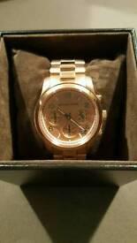 Michael Kors Ladies Rose Gold Watch