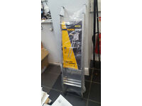 New WORKZONE 3 Section Loft Ladder with Hand grab rail. Unused, still in original packaging