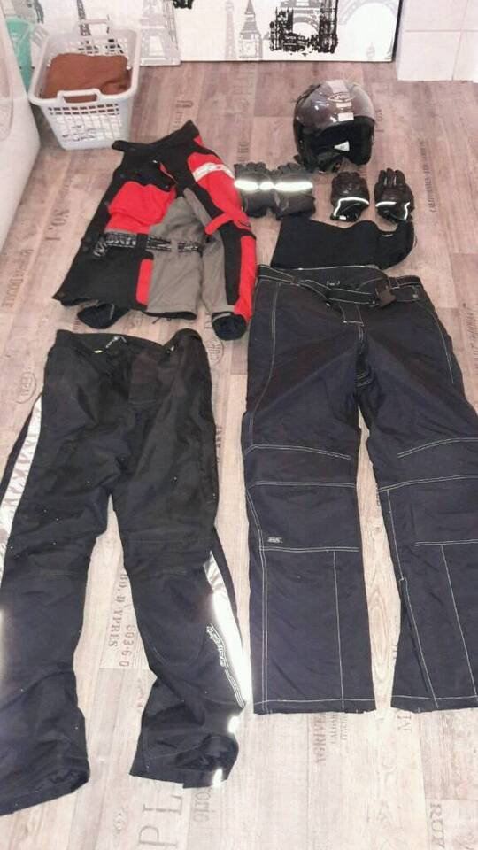 Motorrad Outfit Sommer und Winter in Marne