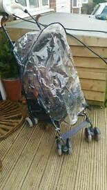 Mclaren Fold Up Pushchair Buggy