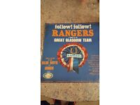 1966 Rangers Record - Blue boys of ibrox