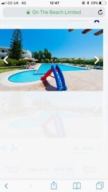 1 weeks holiday to Rhodes all inclusive 2 adults