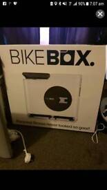 Bike box exercise compact hands free