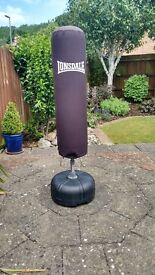 Lonsdale free standing punchbag