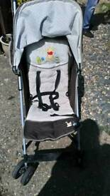 Whinnie the pooh hauck pushchair