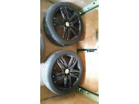 "4 x 22"" OVERFINCH STYLE ALLOY WHEELS AUTOBIOGRAPHY RANGE ROVER SPORT SUPERCHARGER HSE"