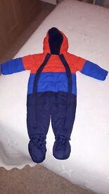 Brand New Boys 9-12 Months Snow Suit