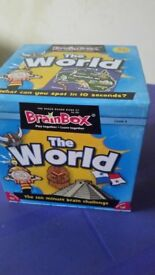 New - Board Game - The World - BrainBox