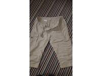 Marmot three quarter length shorts. Size 8.