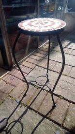 Pair of matching tables (plant pot stands)