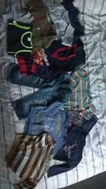 Boys bundle of clothes 3-4 years