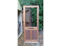 External timber door