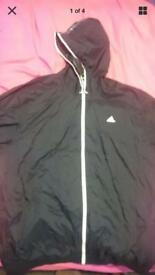 Adidas light weight rain jacket windbreaker windcheater XXL 2XL