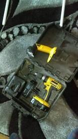 Dewalt 18v drill with torch
