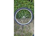 Bicycle wheel back