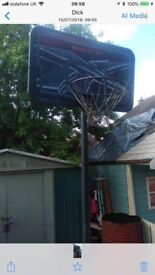 Large reebok basket ball net