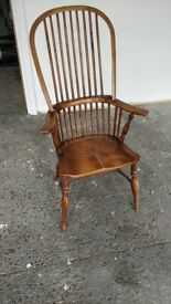 Solid Wood Armchair Shaker Style