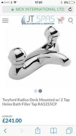Twyford bath taps new in box