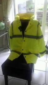 Warrior hi vis jacket
