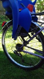 Blue Hamax Child Bike Seat