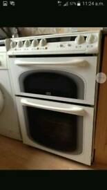 Creda concept double oven electric cooker. Can deliver
