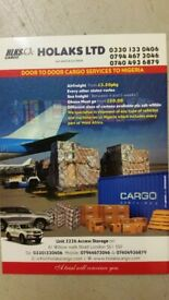 CARGO AND SHIP TO NIGERIA WITH HOLAKS CARGO