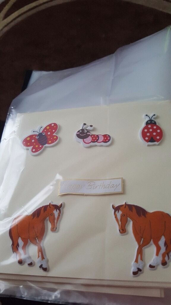 Bargain buyin Blantyre, GlasgowGumtree - Blank cards made to order. £2 each. Any name. Design. Age. Ect