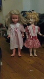 Vintage 1950s and 1960s Dolls