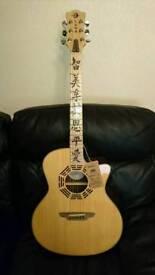 Luna OCL ZEN Electro Acoustic Guitar